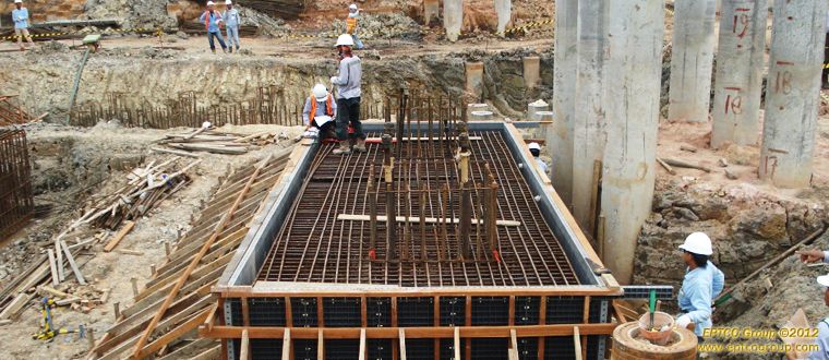 Formwork Pile Cap PG 1 Boiler 5 (with-Plasform)
