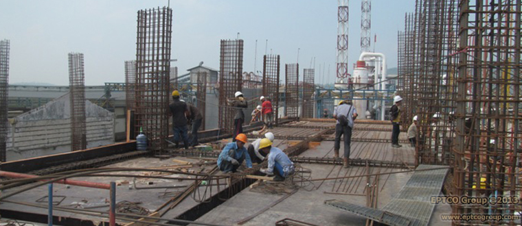 Civil Work of Spinning Building Project